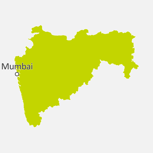 Map of Maharashtra